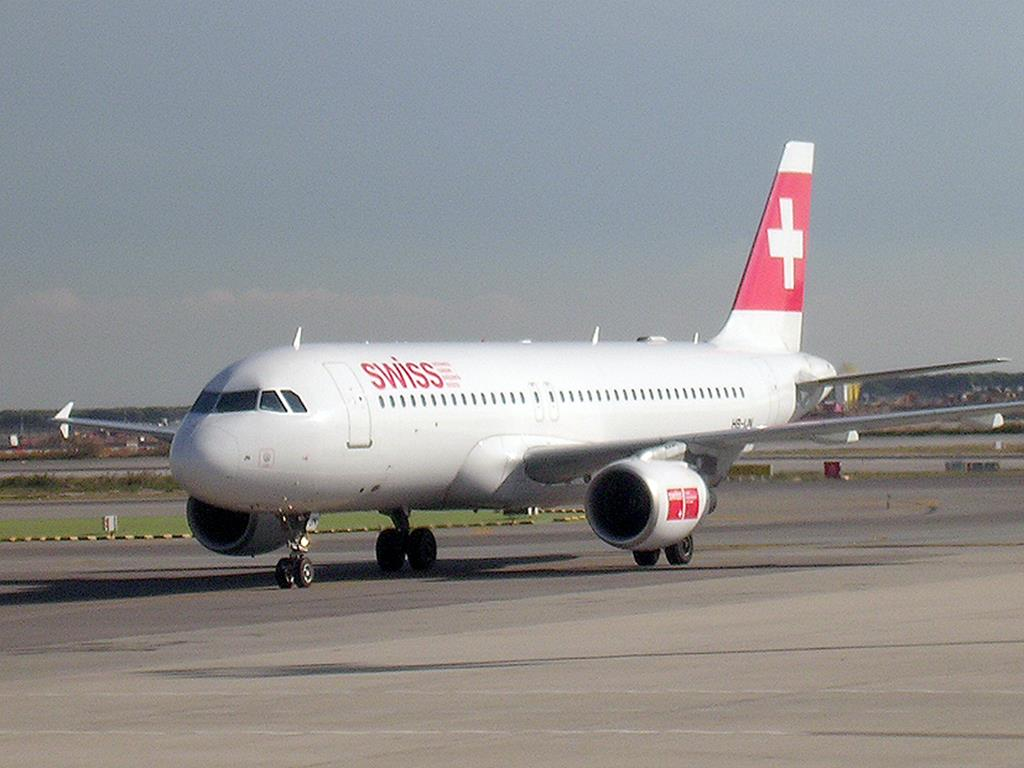 Swiss en BCN A320 (Copy)